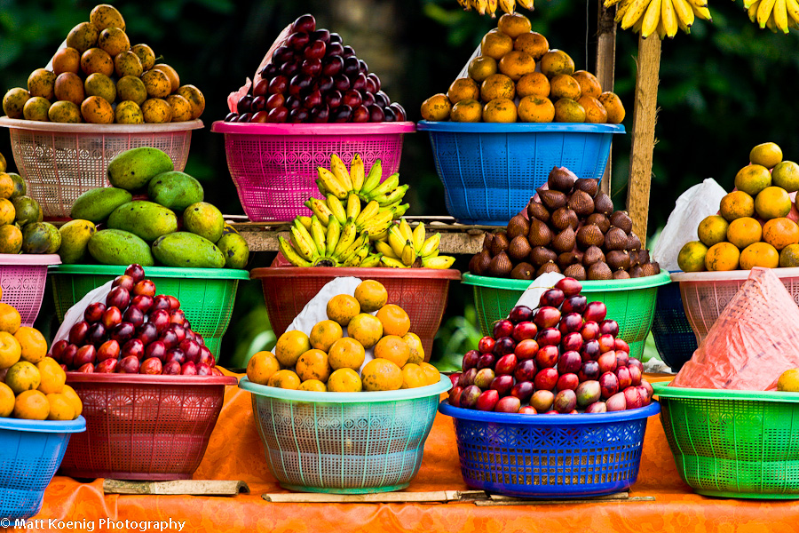 Photo of the day balinese fruit stand matt koenig for Stand de fruits ikea