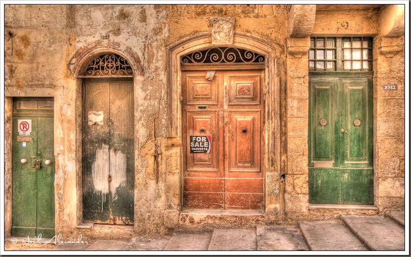 Photo Of The Day Maltese Doorways The Carey Adventures