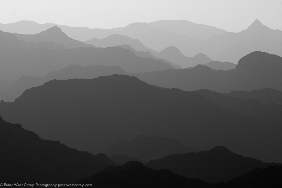 Layers, Oman - Peter West Carey Photography