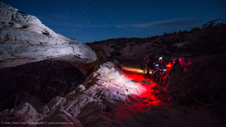 Photographers At Mesa Arch, Canyonlands National Park, Utah, USA