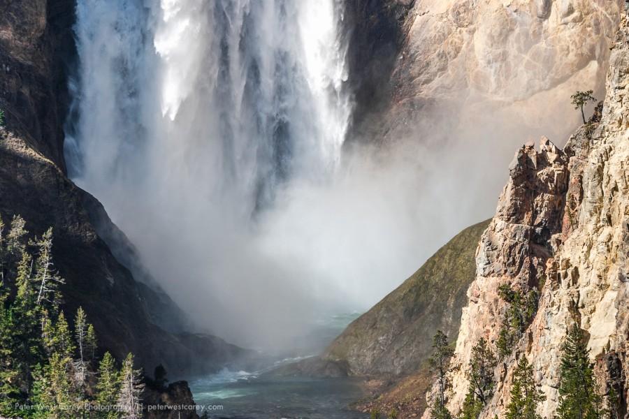 The Base Of Lower Yellowstone Falls
