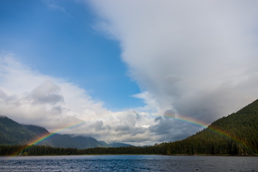 Rainbow Over False Bay, Alaska
